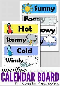 Weather Chart For Preschool Classroom Printable Preschool Calendar Board Weather Printables Preschool