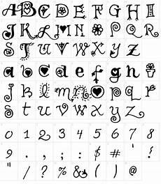 Girl Fonts Teenage Girl Font Download