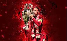 liverpool fc wallpaper henderson wallpapers 4k henderson with cup uefa