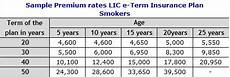 Lic Term Insurance Plan Chart Best Lic Term Insurance Plans Which Plan Is Suitable To