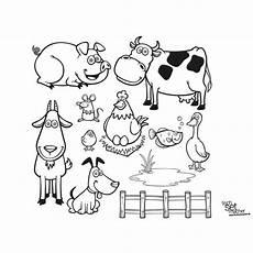 Bauernhoftiere Ausmalbilder Malvorlagen Bauernhof