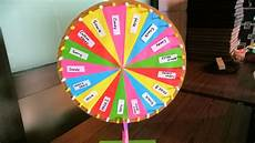 Diy Prize Wheel How To Make Wheel Of Fortune With Fidget Spinner Youtube