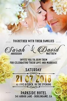 wedding invitation card template 57 exles of wedding invitations psd ai eps free