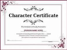 Niit Certificate Format Pdf Character Certificate For Employee Govt Job Student