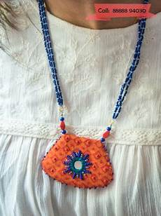 the most unique handcrafted fabric jewelry only crafts bits