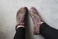 one hour crochet slippers free pattern allfreecrochet