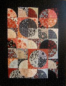 patchwork quilt black and japanese by kallistiquilts