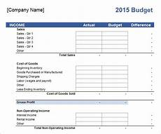 Sample Business Budget Template Free 16 Sample Business Budget Templates In Google Docs