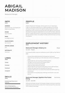 Restaurant Manager Resume Sample Restaurant Manager Resume Amp Writing Guide 12 Examples