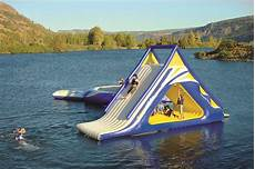 Floating Slide Aquaglide Summit Express Water Toys Canada Water Fun