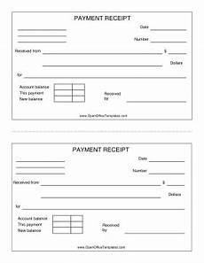 libreoffice receipt template payment receipt