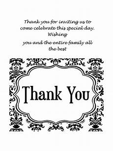 Business Thank You Cards Templates 30 Free Printable Thank You Card Templates Wedding