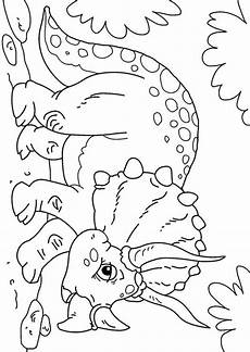 dino malvorlage pdf dibujo para colorear dinosaurio triceratops img 27631