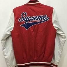 vintage supreme clothing april sale vintage 90s supreme varsity from