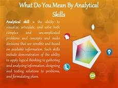 Definition Of Analytical Skills Analytical Skills