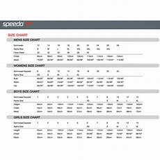 Speedo Size Chart Size Guides Rival Adrenalin Arena Blueseventy Turbo