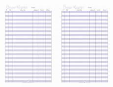 Paper Checkbook Register Home Management Free Printables Checkbook Register