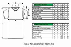 Slim Fit Shirt Size Chart Uk Step By Step T Shirt Measurement Techniques Tee Shirt