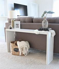 Sofa Console Tables 3d Image by 20 Easy Diy Console Table And Sofa Table Ideas Hative