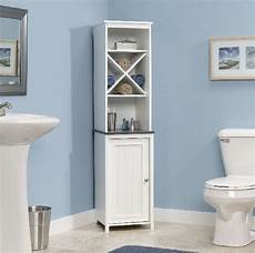 narrow bathroom storage cabinet towel linen tower bath