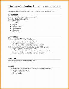Resume Outline For First Job Computers Amp Business 2 04 19 Alva Career Center