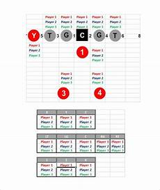 Football Depth Chart Template Google Docs 9 Football Depth Chart Templates Doc Pdf Excel Free