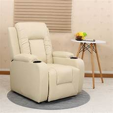 Sofa With Cup Holder 3d Image by Oscar Leather Recliner W Drink Holders Armchair Sofa Chair