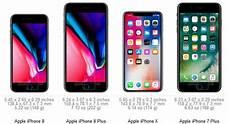 Iphone 8 And Iphone X Comparison Chart Size Comparison Iphone 8 Vs The Rest Mpc