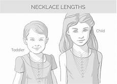Child Necklace Length Chart Child S Necklace Length Google Search Necklace Lengths
