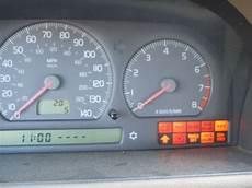 Volvo Position Light Warning 1998 Volvo S70 All Warning Lights Always On