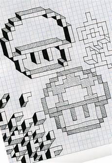Graph Paper Art Step By Step Graph Paper Fun By Utahdude Deviantart Com On Deviantart