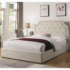 coaster hermosa upholstered bed with hydraulic lift