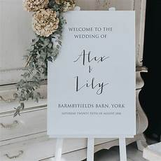 Calligraphy Sign Calligraphy Style Welcome Sign By Lilac Amp White