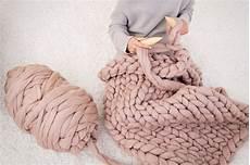diy knitting kit chunky merino wool yarn