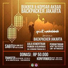 bukber kopdar akbar backpacker jakarta 2017 backpacker