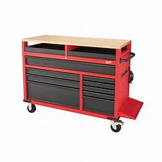 milwaukee 52 in 11 drawer mobile workcenter 48 22 8552