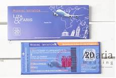 liza faris boarding pass souvenir pernikahan