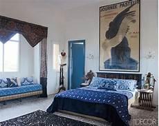 Schlafzimmer Ella by Maryam Montague Indigo Moroccan Bedroom In Decor