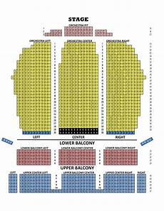 Fox Theater Detailed Seating Chart Fox Theater Detroit Seating Chart Orchestra Pit