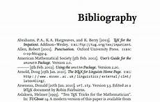 Bibliography Websites How To Write A Bibliography For A Research Paper