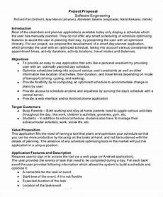 Template For A Business Proposal 7 It Business Proposal Templates Free Word Pdf Format