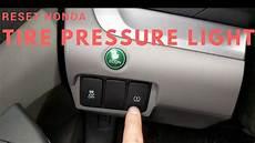 2009 Honda Pilot Tpms Light Reset Honda Tpms Light For Vehicles With A Dash Button