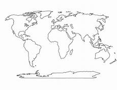 Free Printable Blank World Map Printable Blank World Map Template For Students And Kids