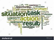 Behavioral Job Interview Word Cloud Related Behavioral Job Interview Stock Vector