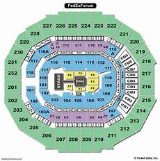 Fedex Seating Chart Fedexforum Seating Chart Seating Charts Amp Tickets
