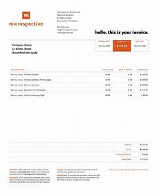 Example Of Invoice Receipt 10 Invoice Examples What To Include Best Practices