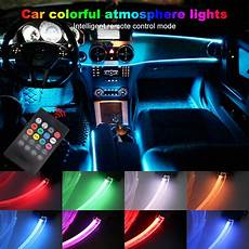Rgb Light For Car Ambient Light Car Rgb Atmosphere Lights 8 Colors Diy Led