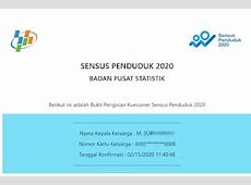Cara Mengisi Sensus Penduduk 2020 Online