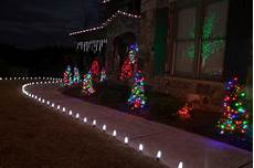 Diy Stakes For Christmas Lights Led Outdoor Christmas Lighting Traditional Landscape
