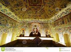 dunhuang frescoes mogao caves stock photo image of